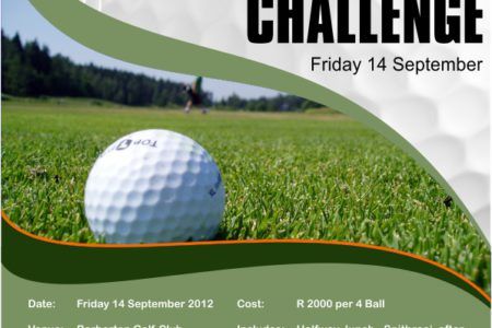 Golf Day Ad - Graphic Design - Nelspruit and White River, Mpumalanga