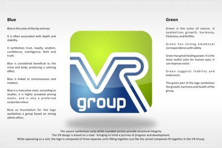 VR Group Logo - Graphic Design - Nelspruit and White River, Mpumalanga