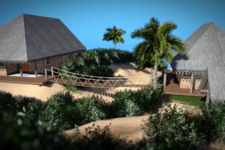 Hang Bridge - 3D Models Architecture - Nelspruit and White River - Mpumalanga