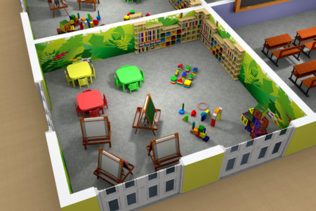 School - 3D Models Architecture - Nelspruit and White River - Mpumalanga