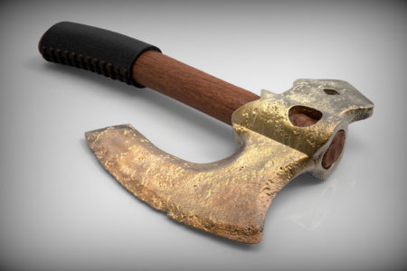 Ancient Axe - 3D Models Misc - Nelspruit and White River - Mpumalanga