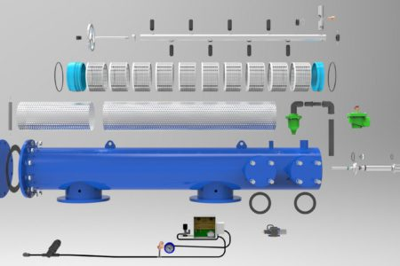 Filter Parts - 3D Models Technical - Nelspruit and White River - Mpumalanga