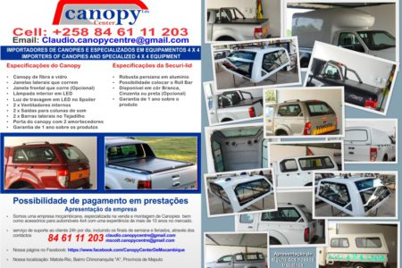 Canopy Centre Pamphlet - Graphic Design - Nelspruit and White River, Mpumalanga