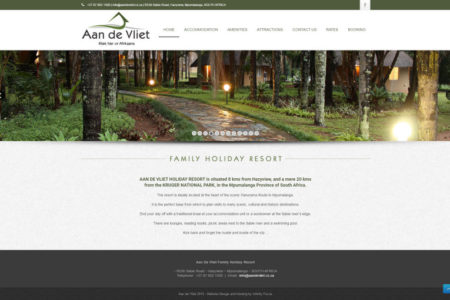 Aan de Vliet - Website Design - Nelspruit and White River - Mpumalanga