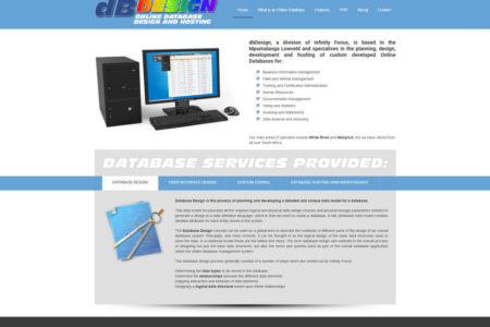DB Design - Website Design - Nelspruit and White River - Mpumalanga