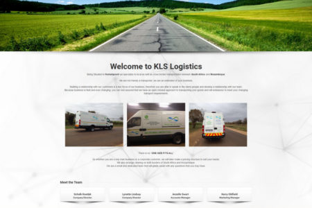 KLS Logistics 25 - Website Design - Nelspruit and White River - Mpumalanga