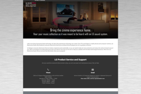 LG MP - Website Design - Nelspruit and White River - Mpumalanga