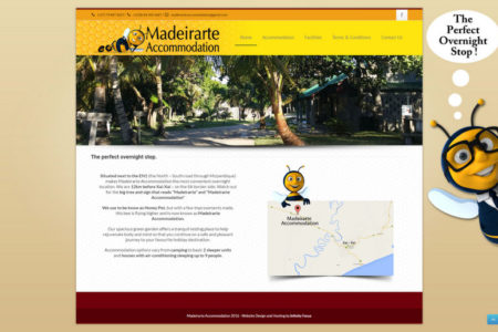 Madeirarte Accommodation - Website Design - Nelspruit and White River - Mpumalanga