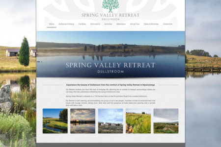 Spring Valley Retreat - Website Design - Nelspruit and White River - Mpumalanga